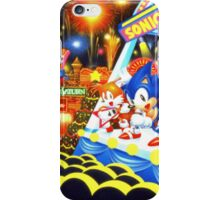 Sonic the Hedgehog live in concert! iPhone Case/Skin