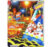Sonic the Hedgehog live in concert! iPad Case/Skin