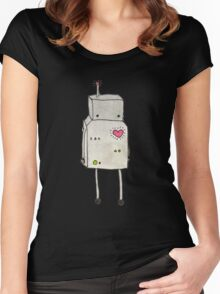Do The Robot Women's Fitted Scoop T-Shirt
