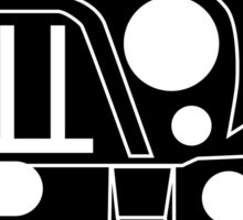 JK Jeep Wrangler with Bull Bar - Front Left Corner & Zoom - Sticker / Phone Case Sticker