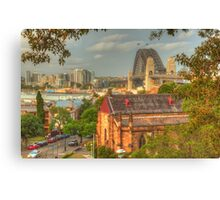 Sydney Springtime from Observatory Hill Canvas Print
