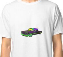 1988 SILVERADO CREWCAB GREEN ON PURPLE Classic T-Shirt