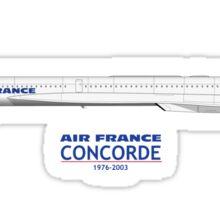 Air France Concorde Sticker