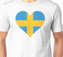 A heart for Sweden Unisex T-Shirt