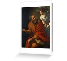 ST. MATTHEW. Greeting Card