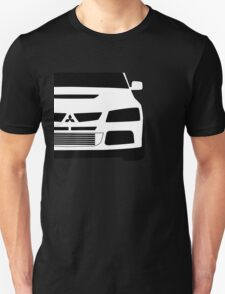Mitsubishi Lancer Evo - Zoom Close Up Left Side Corner Edge - Sticker / Case Design Unisex T-Shirt