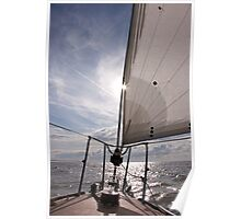 Sailing into the Sun Poster