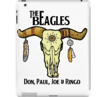THE BEAGLES!! Don, Paul, Joe & Ringo! iPad Case/Skin