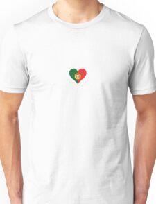 A heart for Portugal Unisex T-Shirt