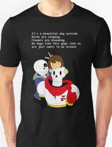Undertale Sans and Papyrus (order) T-Shirt