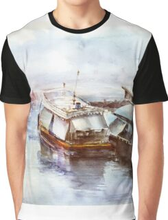 House-boat in Thailand Graphic T-Shirt
