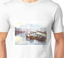 House-boat in Thailand Unisex T-Shirt