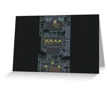 Proto Dome from Chrono Trigger Greeting Card