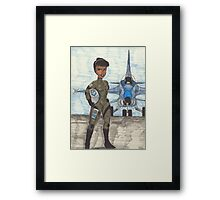 Blue 11 Framed Print