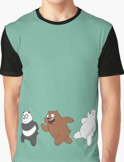 We Bare Bears Sneaking Graphic T-Shirt