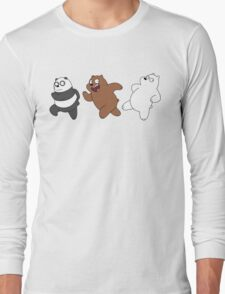 Bears Sneaking Long Sleeve T-Shirt