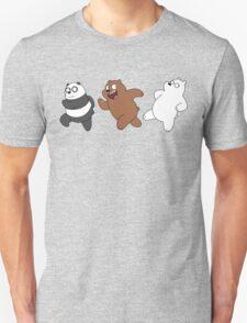 We Bare Bears Sneaking Unisex T-Shirt