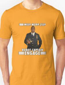 Robot Captain Engage Unisex T-Shirt