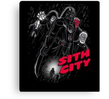 Sith City (Colab with  LgndryPhoenix) Canvas Print