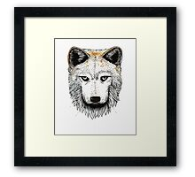 One Pack Wolf Framed Print