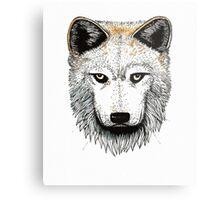 One Pack Wolf Metal Print