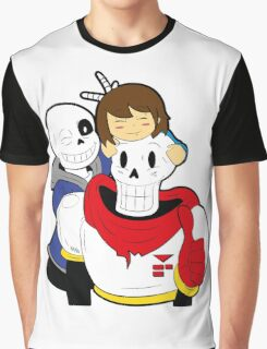Undertale Sans and Papyrus Graphic T-Shirt