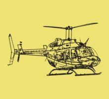 Bell 206L4 Helicopter One Piece - Short Sleeve