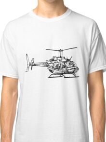 Bell 206L4 Helicopter Classic T-Shirt