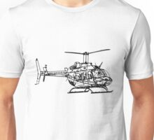 Bell 206L4 Helicopter Unisex T-Shirt