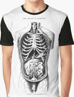The Organs of Digestion. Graphic T-Shirt