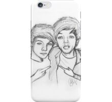 louis twins iPhone Case/Skin