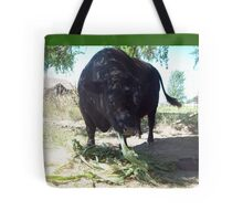 Corn Stalk Tail Wag Tote Bag