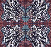 Roving Spirals by Daniel Watts