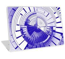 Futuristic abstract Laptop Skin