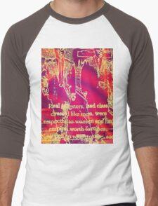 Real Gangsters Men's Baseball ¾ T-Shirt