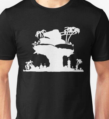 Gorillaz - Plastic Beach (Silhouette) Unisex T-Shirt