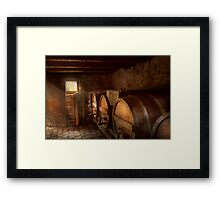Beer Maker - The brewmasters basement Framed Print