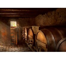 Beer Maker - The brewmasters basement Photographic Print