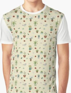 Cute Plants Graphic T-Shirt