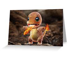 Realistic Pokemon: Charmander Greeting Card