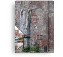Manchester Canal Wall Canvas Print