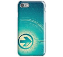 Vintage abstract design for all. iPhone Case/Skin