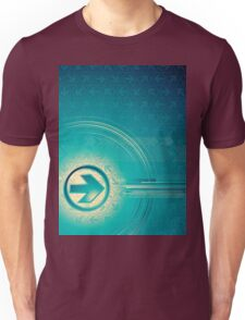 Vintage abstract design for all. Unisex T-Shirt
