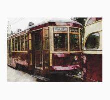 Old Toronto streetcar Kids Tee