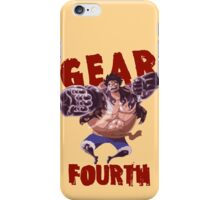 Gear Fourth iPhone Case/Skin