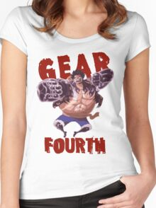 Gear Fourth Women's Fitted Scoop T-Shirt