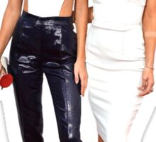 Kendall and Kylie red carpet Sticker