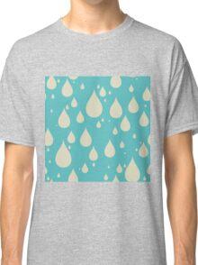 Drip Drip Drip - Pattern - Raindrop Classic T-Shirt