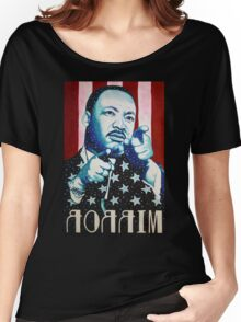 Martin Luther King Look in the Mirror (Mirror Image) T-Shirt Women's Relaxed Fit T-Shirt