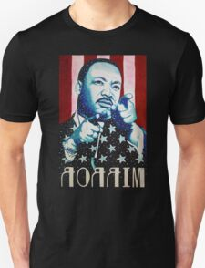 Martin Luther King Look in the Mirror (Mirror Image) T-Shirt T-Shirt